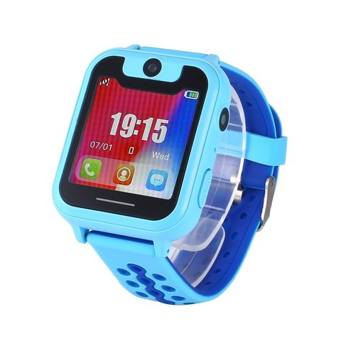 Детские GPS часы Smart Baby Watch S6 Blue