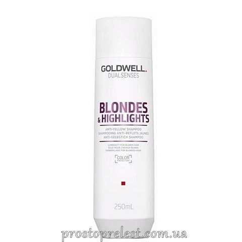 Goldwell Dualsenses Blondes & Highlights Anti-Yellow Shampoo - Шампунь против желтизны для осветленных волос