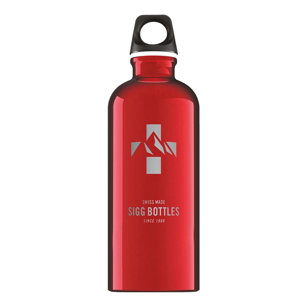 Бутылка для воды Sigg Mountain, красная, 0,6L