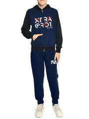 B2-1 спортивный костюм детский, темно-синий