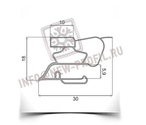 Уплотнитель 27*55 см для  холодильника Норд  DXM 184-7-020(средняя камера) Профиль 015