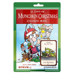 Munchkin - 12 Days of Christmas Coloring Book