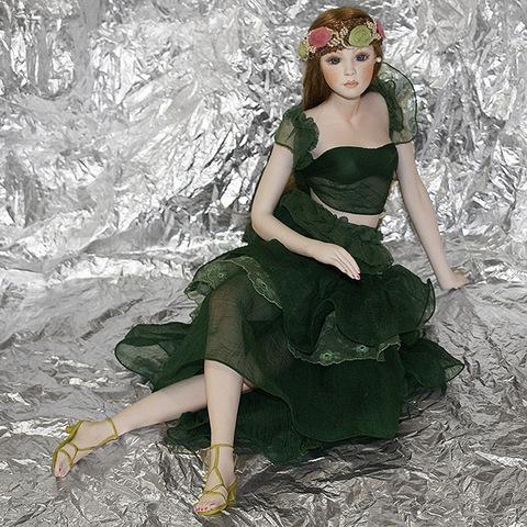 Кукла фарфоровая коллекционная Marigio Veronica