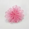 Цветочек розовый из органзы 28 мм ()