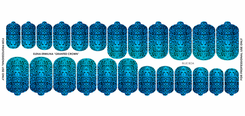 Термоплёнки 02 Blue Boa