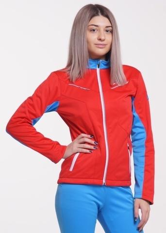Nordski National женская лыжная куртка красная