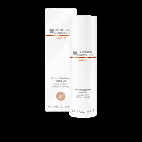 Стойкий тональный крем с UV-защитой SPF-15 для всех типов кожи (ПОРЦЕЛАН 01) Janssen PERFECT RADIANCE MAKE-UP ,30мл.