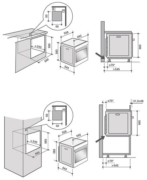 Духовой шкаф De Dietrich DOP7574A