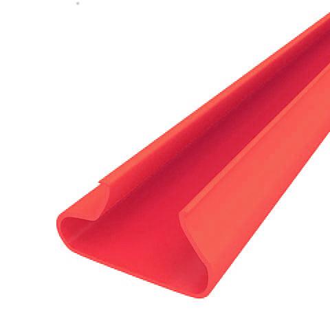 Вставки пластиковые  в экономпанель ВН 12/23 - красные, 1200мм