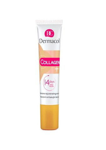 Dermacol Collagen + Intensive Интенсивная омолаживающая сыворотка с высоким содержанием коллагена, 15мл