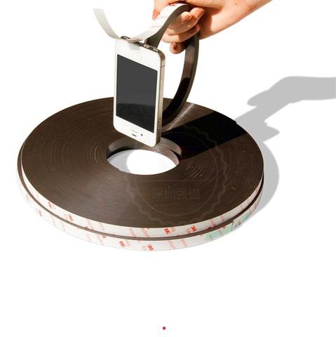 Магнитная лента 12.7 мм с клеем 3М
