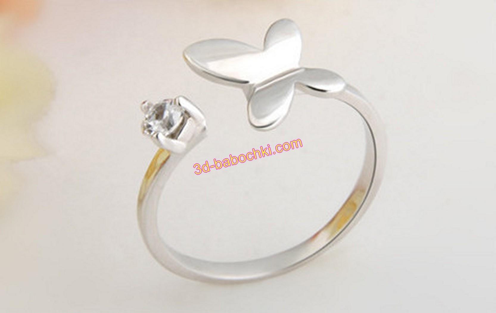 кольцо стерлингового серебра