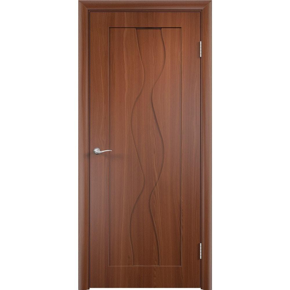 Двери ПВХ Вираж итальянский орех без стекла virag-pg-italianskiy-oreh-dvertsov-min.jpg
