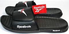 Шлепанцы мужские брендовые Reebok SS-796Black.