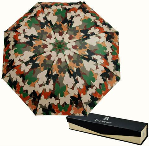 Купить онлайн Зонт складной Barbarina 2307 Butterfly camouflage в магазине Зонтофф.