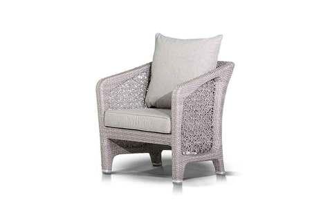 Кресло из ротанга с подушкой Лабро