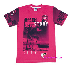 AD6713 футболка пальмы