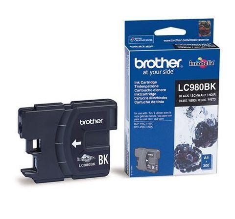 Brother LC-980BK черный картридж для DCP-145C, DCP-165C, MFC-250C, MFC-290C. Ресурс 300 страниц. (5% заполнение)