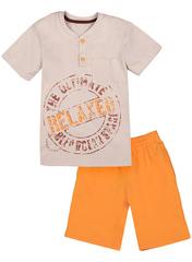 BKD08-028п-4 комплект детский, оранжевый/св.серый