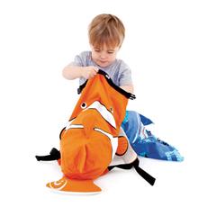 детский рюкзак оранжевый