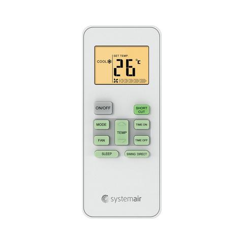 Systemair WALL SMART 09 V2 EVO HP Q
