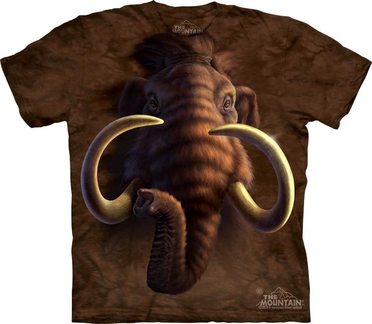 Футболка Mountain с изображением мамонта - Mammoth Head