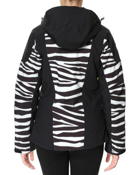 Женская куртка 8848 Altitude TEKSAS zebra (6780Н6) сзади