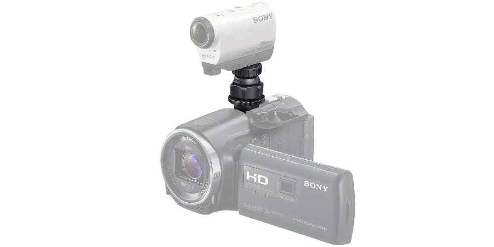 Адаптер площадки Sony (VCT-CSM1) на камере