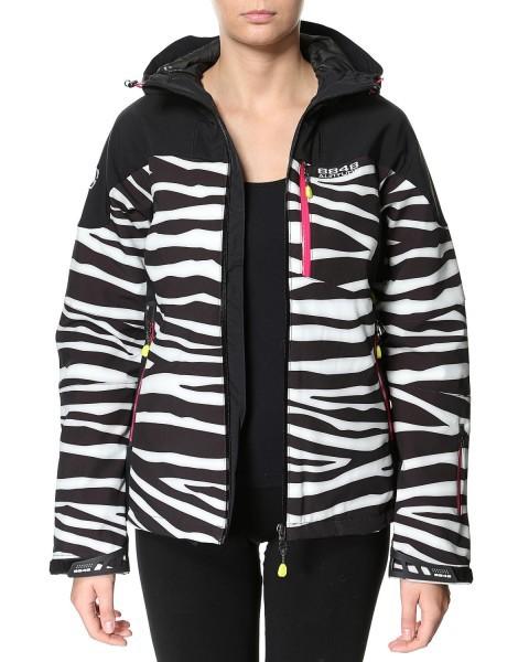 Женская куртка 8848 Altitude TEKSAS zebra (6780Н6) фото