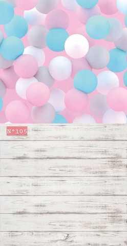 Фотофон Воздушные шары № 105
