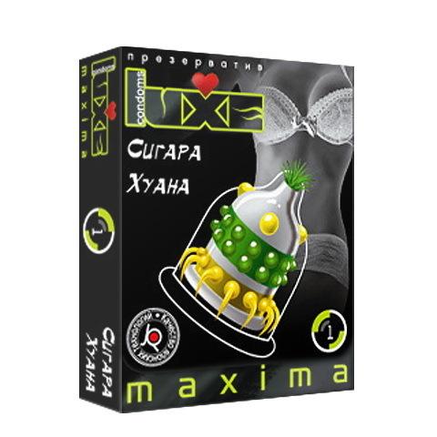 Презервативы Luxe Maxima Сигара Хуана №1 фото