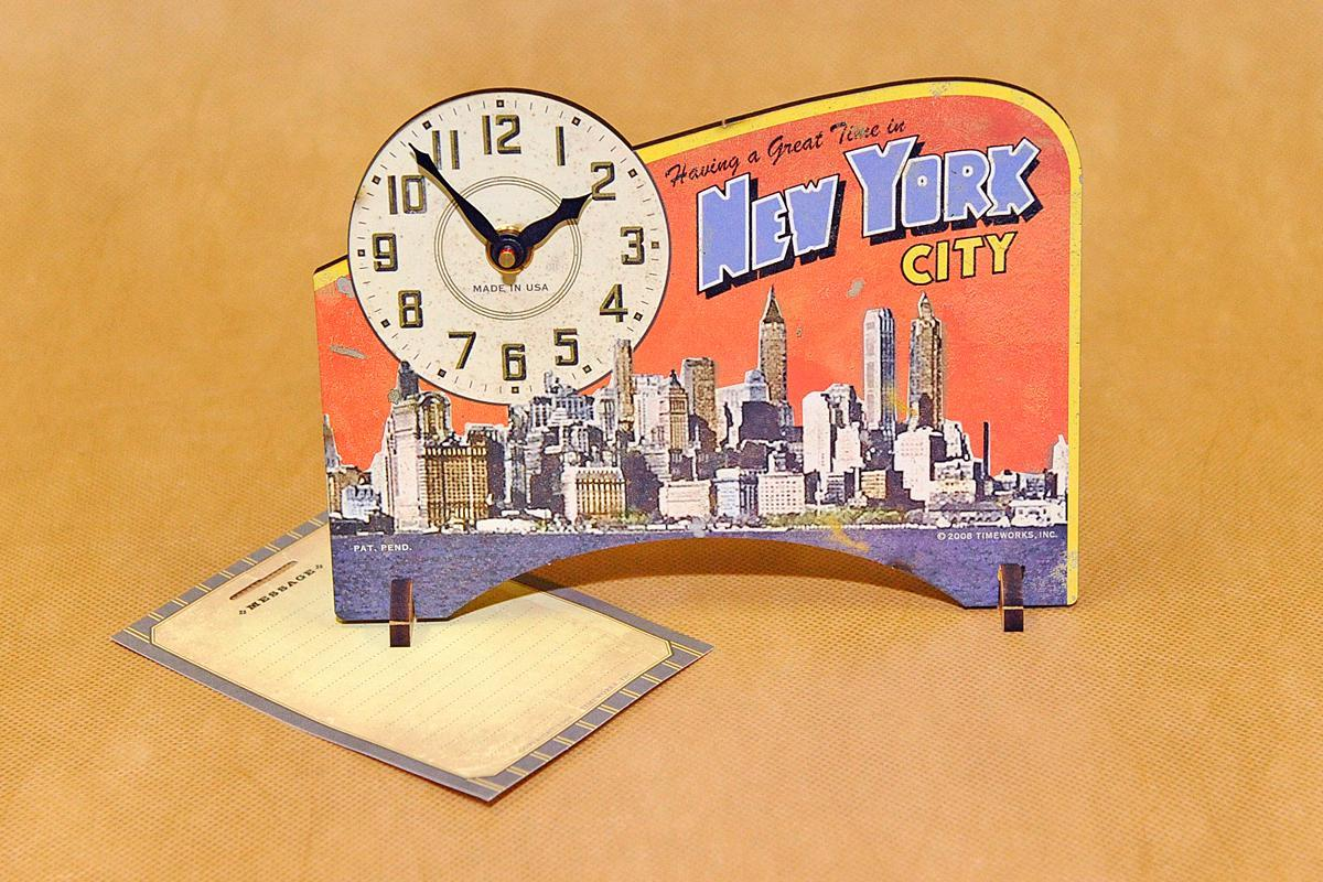 Часы настольные Timeworks New York City POTNYC