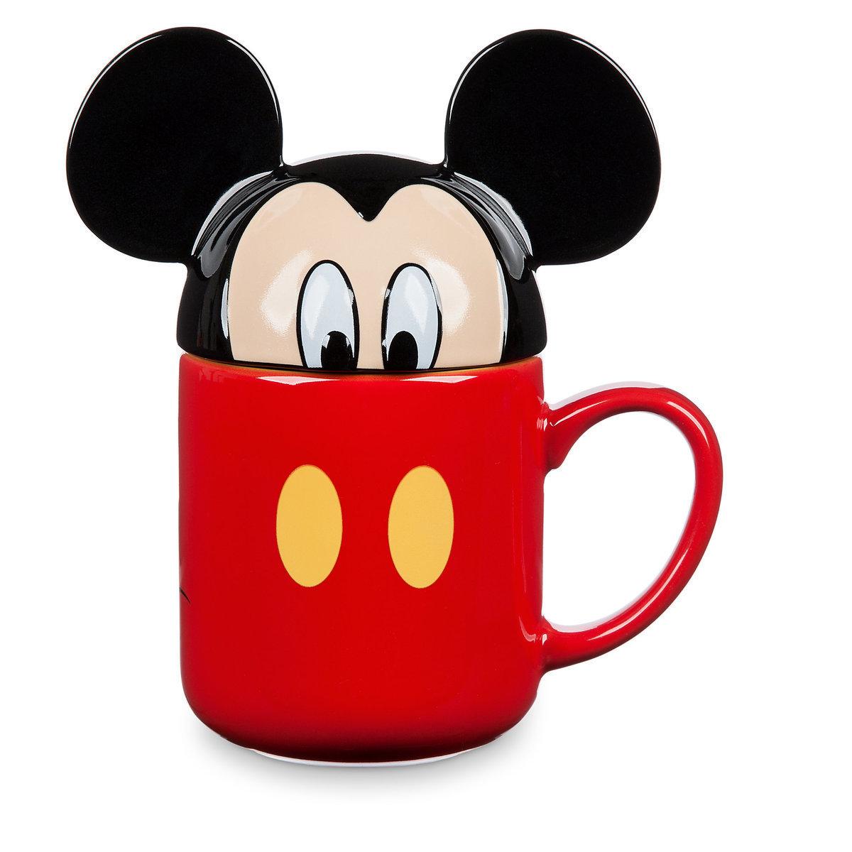 Кружка Дисней с крышкой - «Микки Маус»