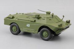 BRDM-2U commander reconnaissance-patrol 1:43 DeAgostini Auto Legends USSR #250