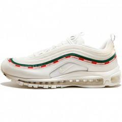 Мужские Nike Air Max 97 Undefeated White/Green/Speed Red