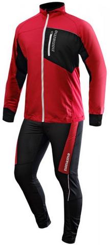 Мужской костюм для бега Noname Robigo 15 (2000779-2000780) красный