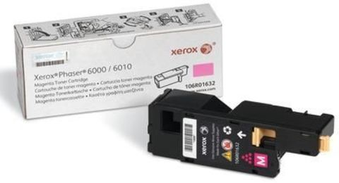 Картридж пурпурный XEROX Phaser 6000/6010, Xerox WorkCentre 6015 106R01632. Ресурс 1000 страниц.