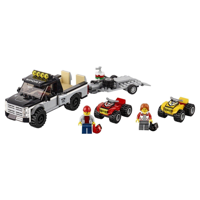 Конструктор LEGO City Great Vehicles Гоночная команда (60148)