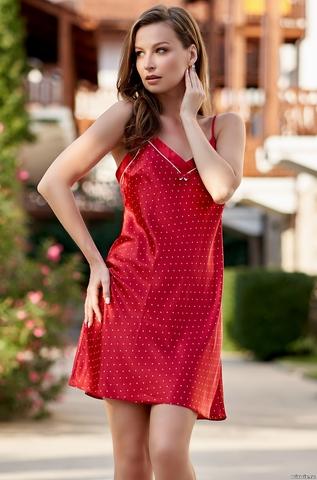 Сорочка женская красная Mia-Amore DOROTHY ДОРОТИ 8700