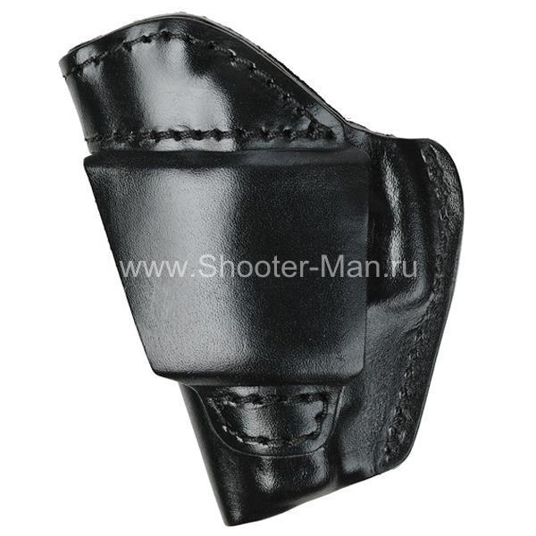 Кобура кожаная поясная для пистолета Глок 17 ( модель № 7 )