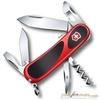 Нож перочинный Victorinox EvoGrip 85мм 12 функций красно-чёрный (2.3603.SC) нож перочинный victorinox evogrip s18 2 4913 sc8 85мм 15 функций жёлто чёрный