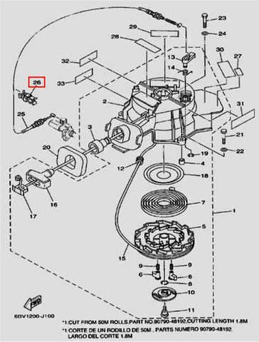 Фиксатор для лодочного мотора F5 Sea-PRO(10-26)
