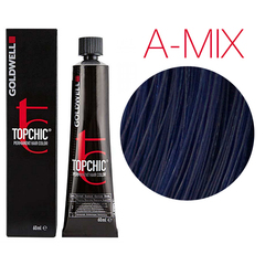 Goldwell Topchic  A-Mix (микс-тон пепельный) - Cтойкая крем краска 60мл