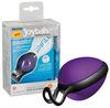 Силиконовый вагинальный шарик со смещенным центром тяжести Joyballs secret (3,5 см.; Вес 45 гр)