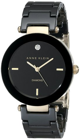 Купить Женские наручные часы Anne Klein 1018BKBK по доступной цене