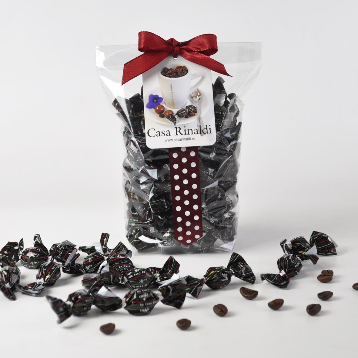Конфеты драже Casa Rinaldi Кофе в тёмном шоколаде 100 гр