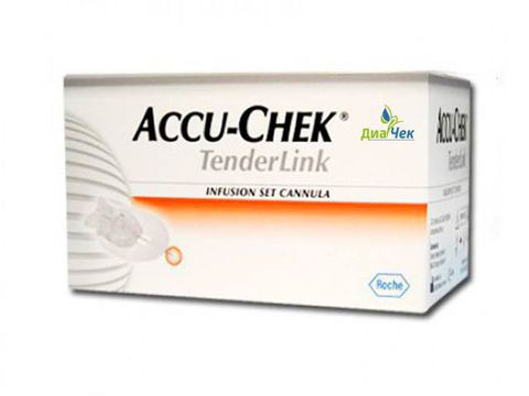 Иглы Акку-чек Тендер Линк  17(длина иглы 17 мм) Accu-Chek TenderLink  Cannula 17