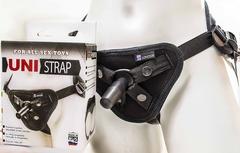 Универсальные трусики для страпона для мужчин и женщин HARNESS UNI STRAP (Vac-U-Lock / O-RING)