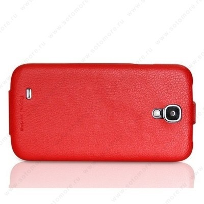 Чехол HOCO для Samsung Galaxy S4 i9500/ i9505 - HOCO Duke flip Leather Case Red