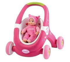 Smoby Ходунки-коляска для кукол (210201)